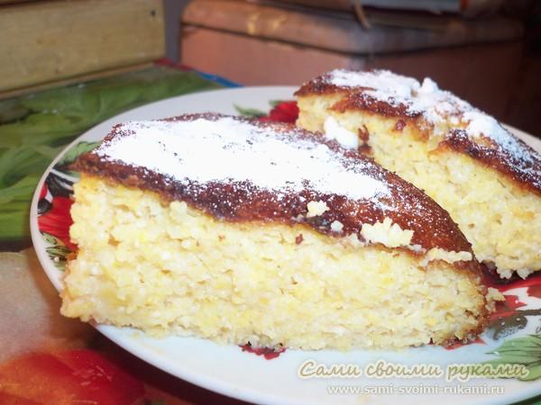 Кукурузный пирог (малай) - рецепт с фото