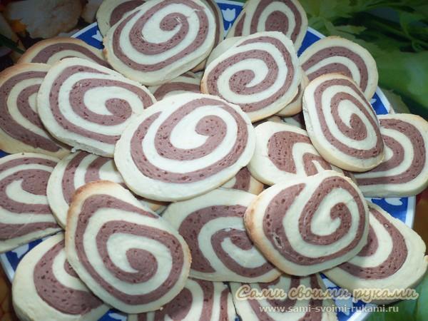 Печенье Зебра - рецепт приготовления с фото