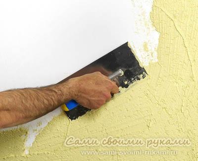 Шпаклевка стен своими руками - инструкция, советы