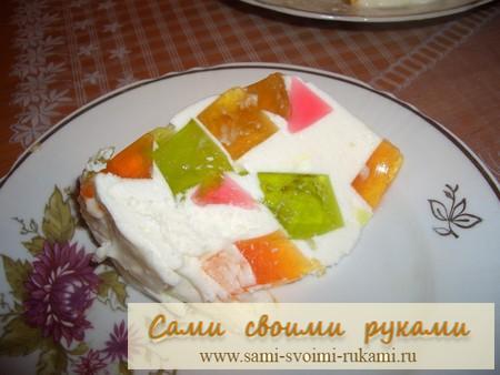 Красивый торт своими руками рецепт с фото