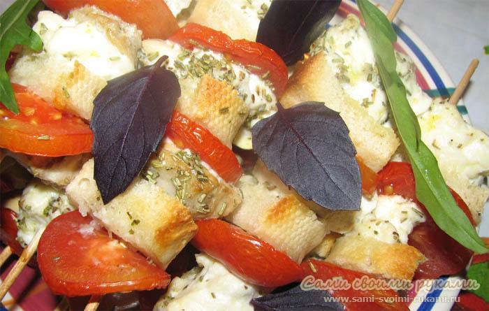 Рыбный шашлык - рецепт приготовления из белой рыбы (фото)