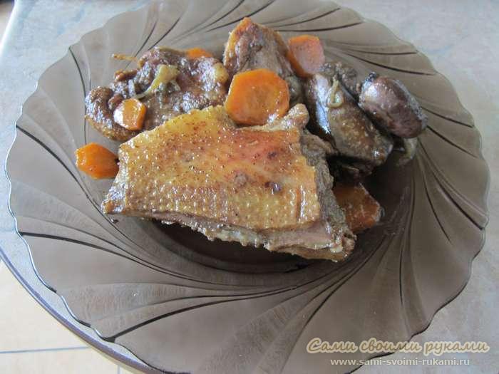 Плов из утки в мультиварке рецепты с фото