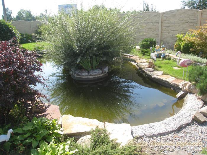 Декоративный пруд для дачи своими руками - фото