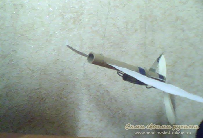 Как из моторчика сделать самолет
