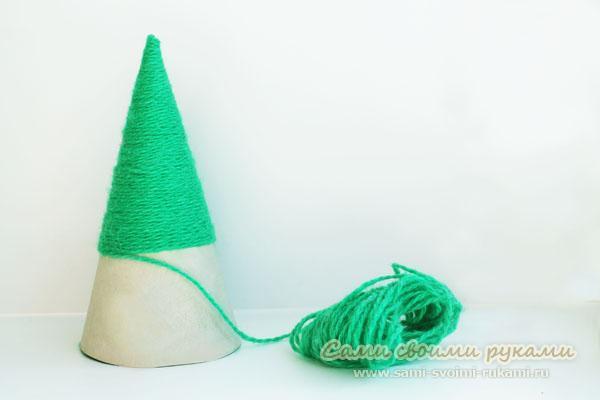 Как сделать новогоднюю елку своими