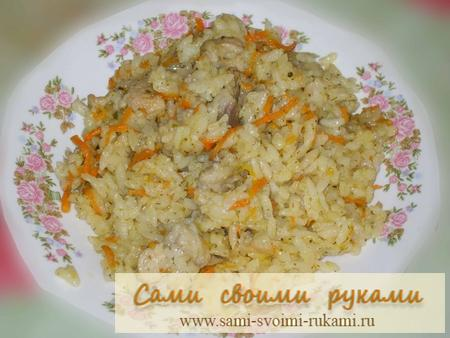 Рассыпчатый рис в плове рецепт