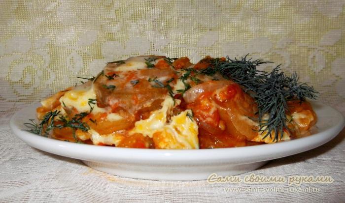 вкусные рецепты блюд из баклажанов