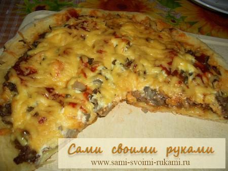 Пицца Итальяно - делаем дома