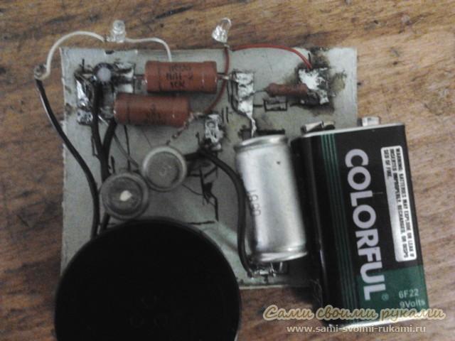 Имитатор звука кряканья утки - фото, схема, инструкция