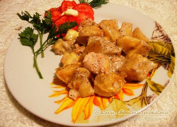 Блюда из картофеля без мяса на скорую руку рецепты