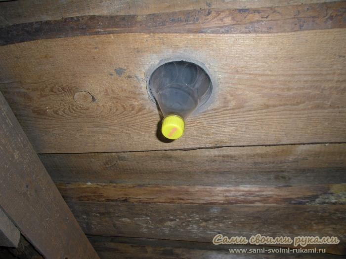 Как сделать естественную вентиляцию в гараже, мастерской