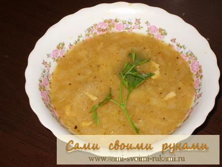 Суп луковый по-французски