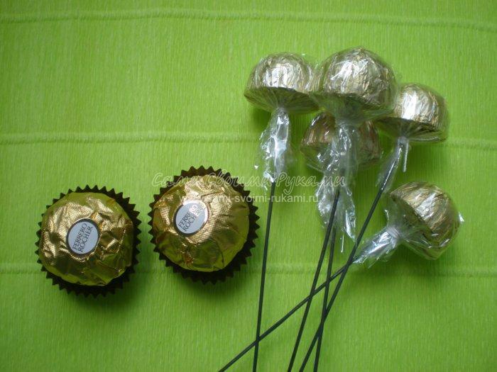 Как сделать конфетный букет своими руками