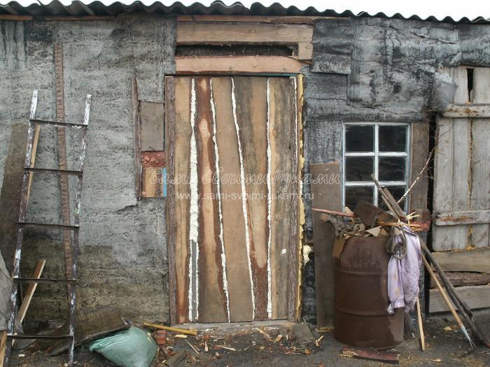 Дверь в сарай видео