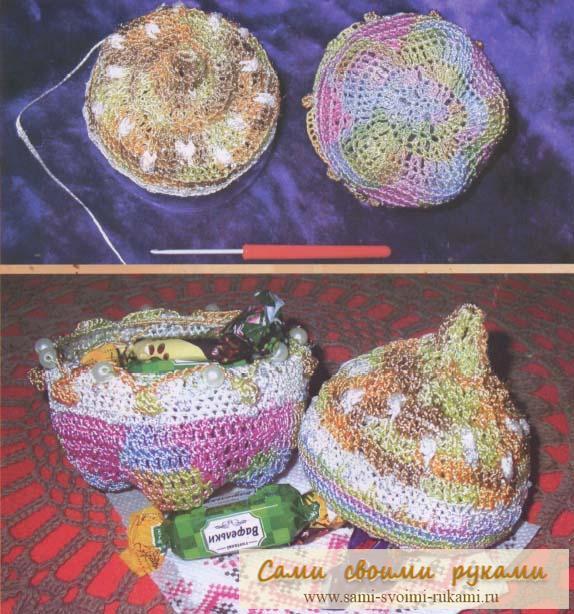 Схемы вязание крючком