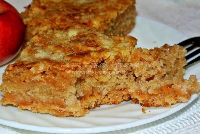 Рецепт яблочного пирога в домашних условиях с фото 572