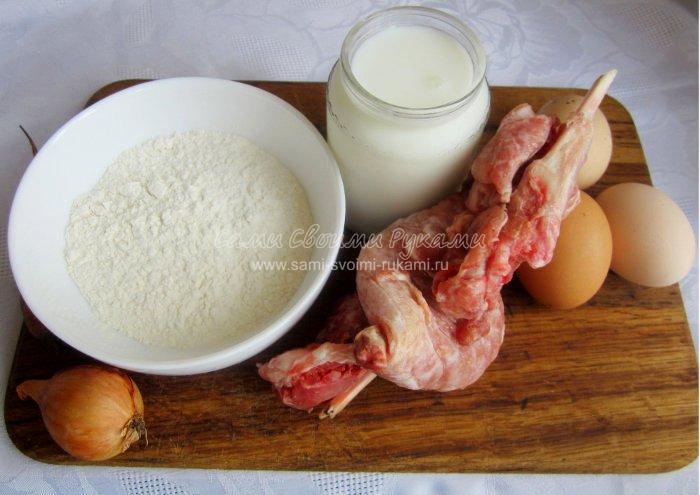 рецепт для блинов с мясом