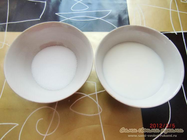 Маска пилинг из соли для волос