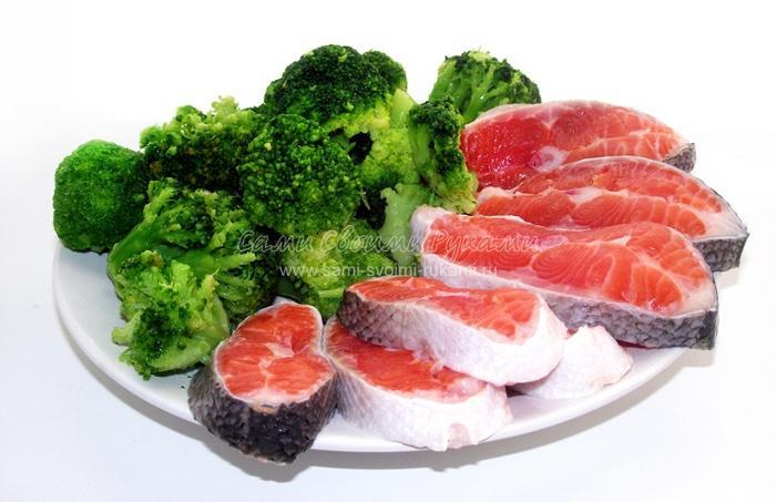 рецепт красной форели в духовке