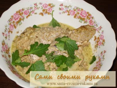 Сациви из курицы - рецепт