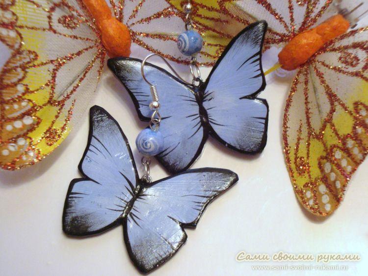 Своими руками большая бабочка 48