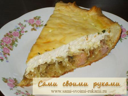 Немецкий луковый пирог