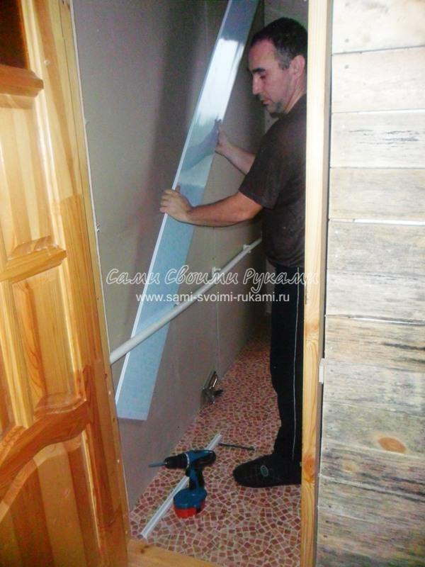 Отделка стен своими руками в деревянном доме
