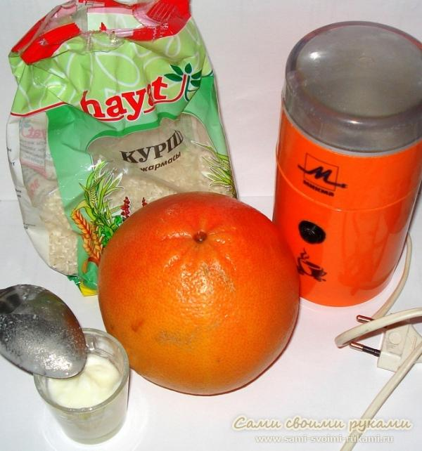 Маска из грейпфрута для лица от морщин для любого типа кожи