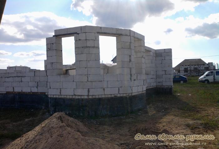 Кладка стен из блоков - технология, описание, фото
