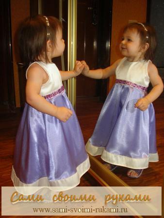 Новые подарки своими руками 5 | детское платье из