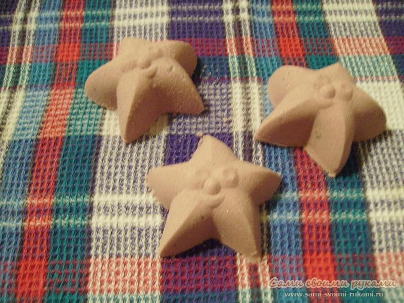 Ванные бомбочки - Морская звезда