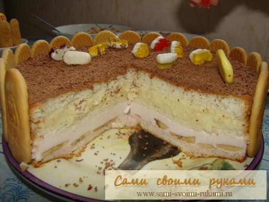 Рецепты вкусных тортов своими руками