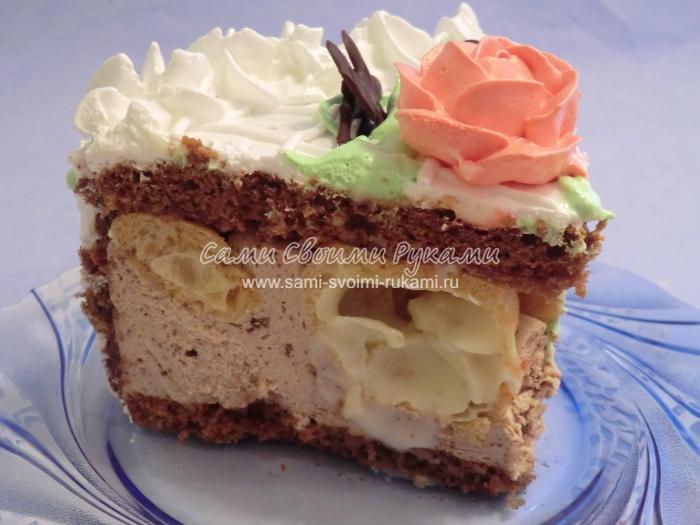 Вкусный торт рецепт с фото своими руками