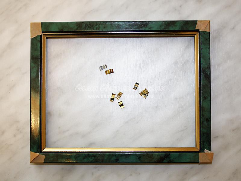Рамка для зеркала из багета своими руками 793