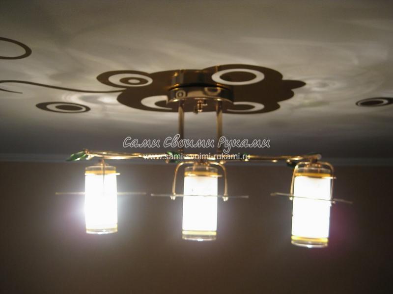 Популярно о законе Ома, схема подключения люстры, устройство люстры, как подключить люстру . статьи по электрике...