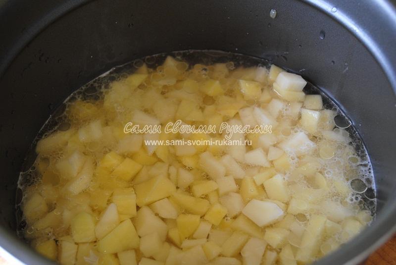 Как сделать тушеную картошку густой