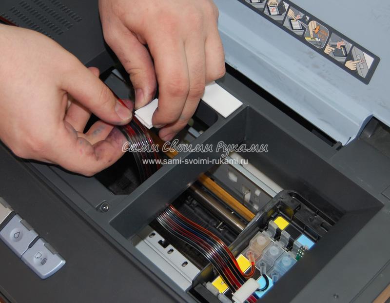 Как самому установить снпч на принтер