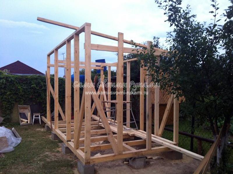 Строительство обычного сарая на даче своими руками - мастер класс с фото Сами своими руками Своими руками