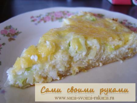 Запеканка из капусты с сыром - рецепт с фото Сами своими руками.