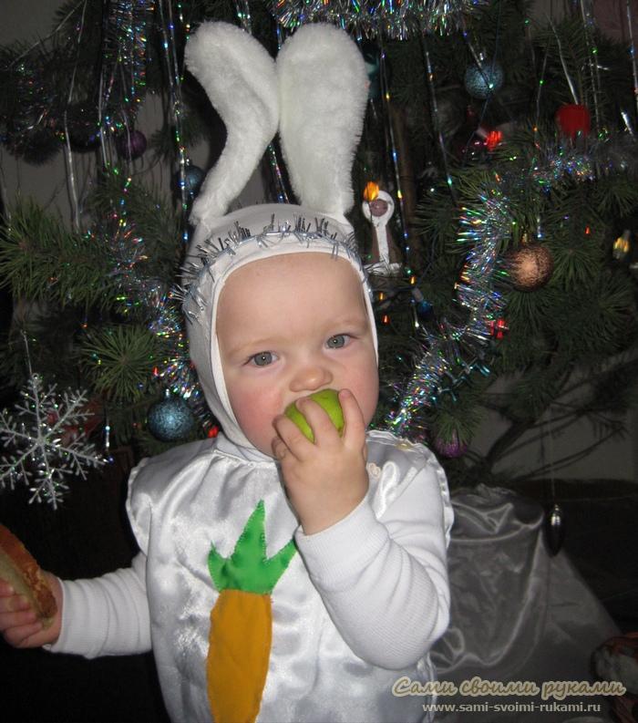 Костюм Зайчика на Новый год