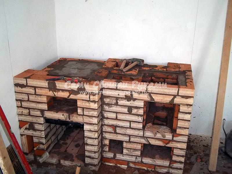 Духовой шкаф для кирпичной печи своими руками 81