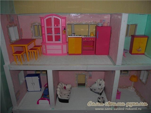 Кукольный мебель своими руками мастер класс