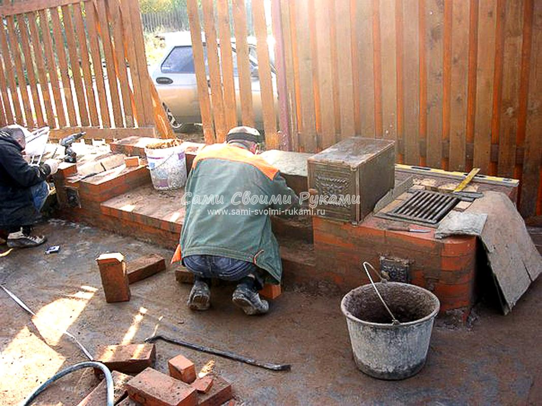 Дача строим печь своими руками 84