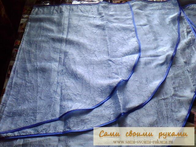 как сделать раскрой шторы - Выкройки одежды для детей и взрослых.