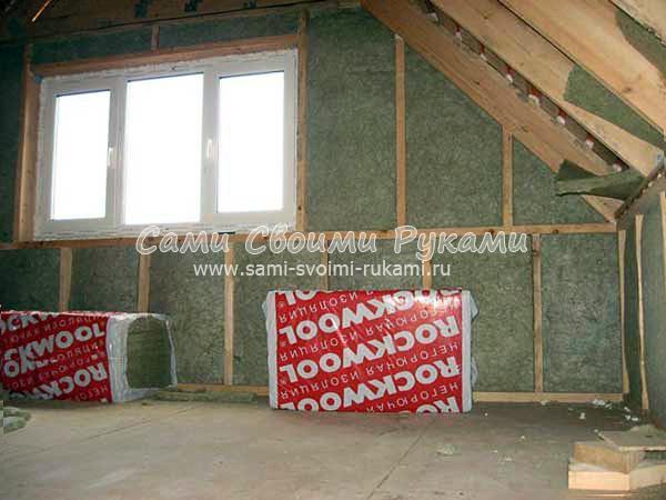 Стороной на потолке стелить пароизоляцию какой
