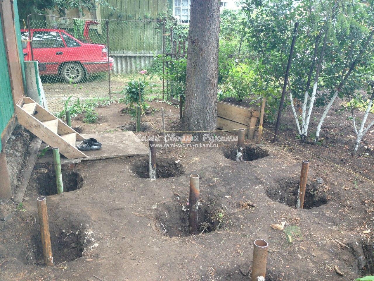Поделки для дачи: используем дерево