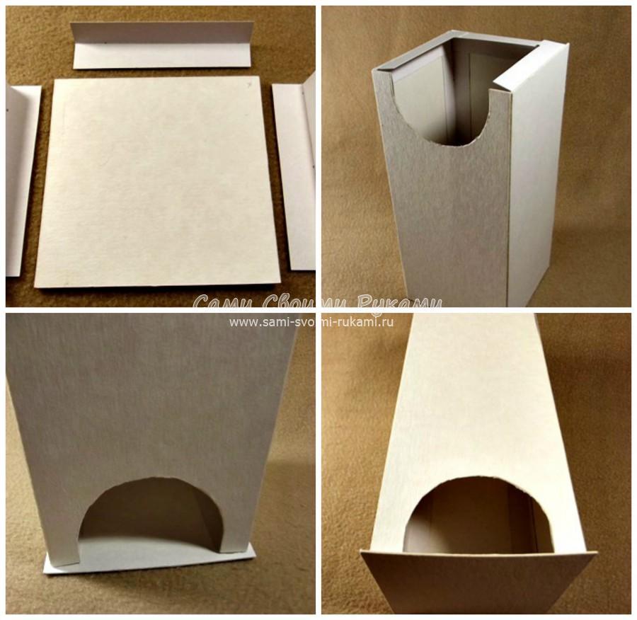 Чайные домики своими руками из коробки