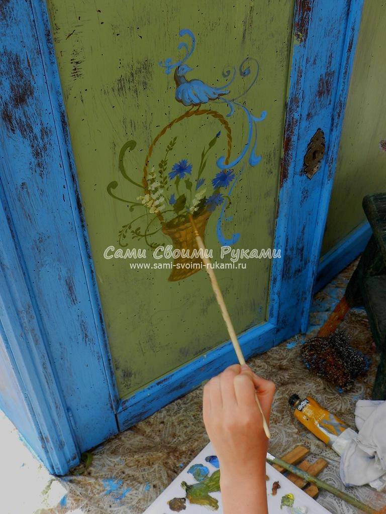 Пошаговая реставрация старого буфета своими руками