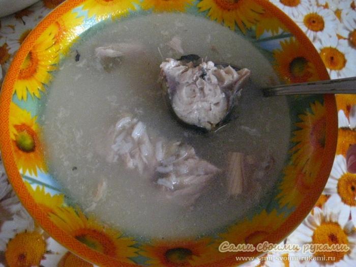 Суп из скумбрии, как приготовить