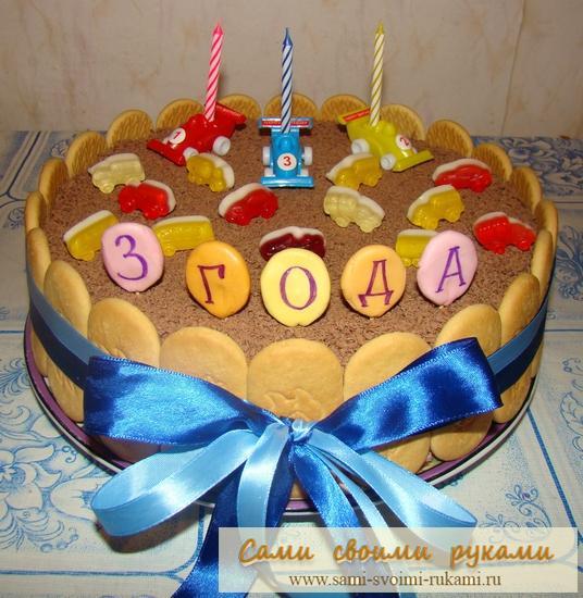 Детский торт своими руками рецепты и фото